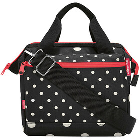 KlickFix Roomy E Handlebar Bag, mixed dots